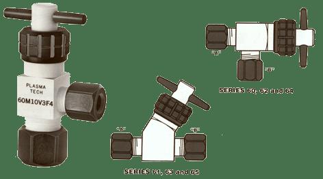 PTFE Hand Valve- Bubbler Valve